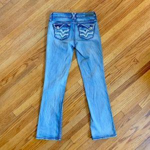 Hydraulic Lola Curvy Distressed Embellished Jeans